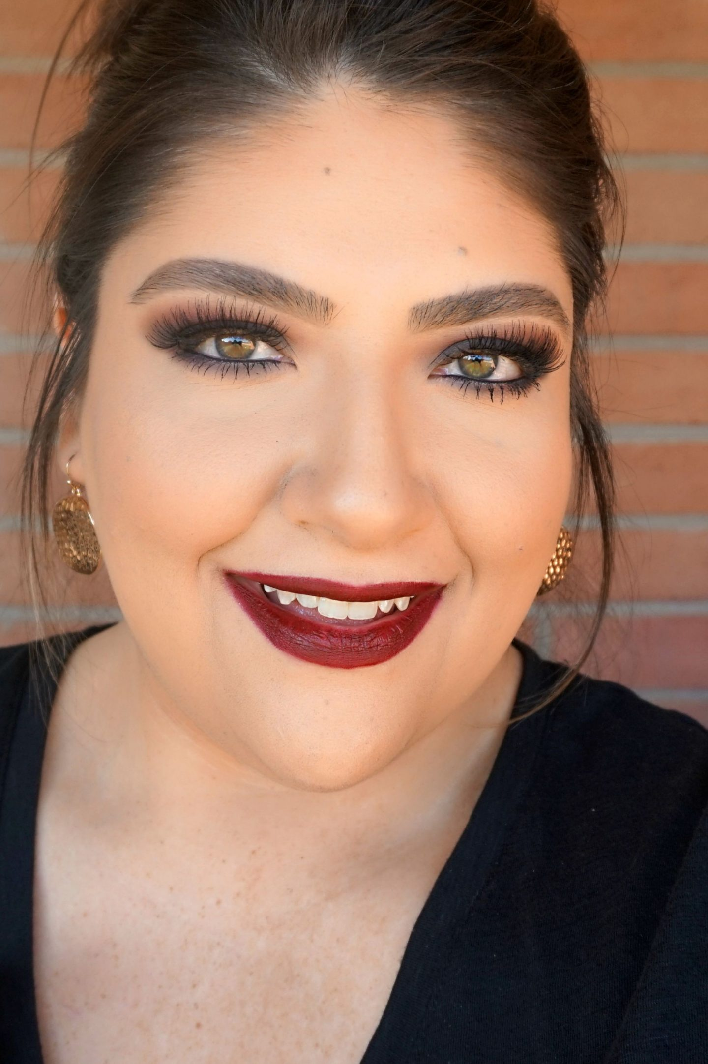 Easy Fall Burgundy Makeup Look // Fall Makeup Look | Beauty With Lily - A West Texas Beauty, Fashion & Lifestyle Blog