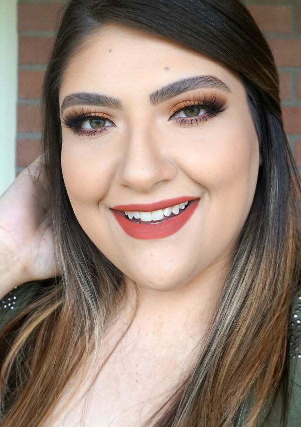 Glam Orange Makeup Look // Beauty With Lily - A West Texas Beauty, Fashion & Lifestyle Blog