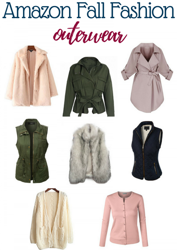 Affordable Amazon Fall Outerwear // Amazon Fashion // Fall Fashion | Beauty With Lily - A West Texas Beauty, Fashion & Lifestyle Blog