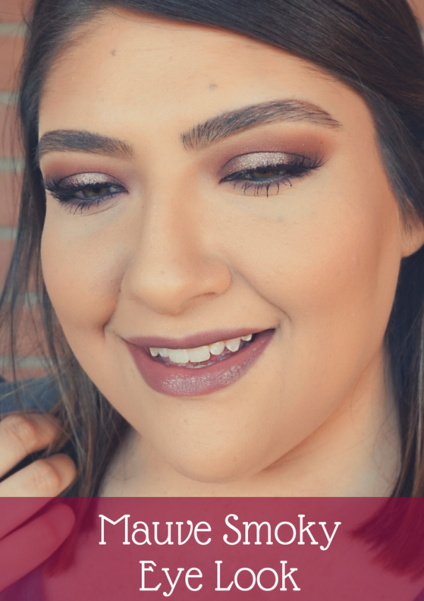 Mauve Smoky Eye Look // Beauty With Lily, A West Texas Beauty, Fashion & Lifestyle Blog