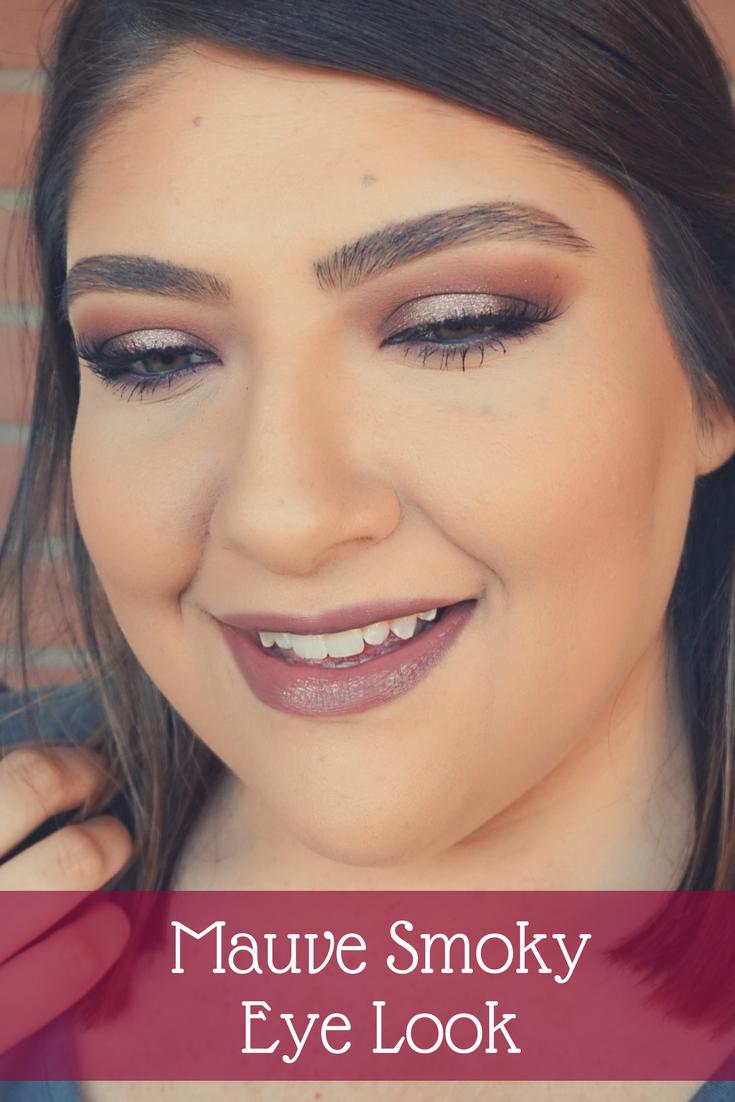 Mauve Smoky Eye Look // Beauty With Lily, A West Texas Beauty, Fashion & Lifestyle Blog