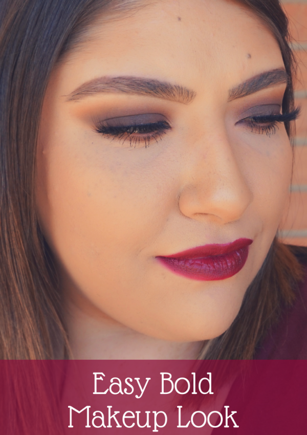 Easy Bold Makeup Look | Beauty With Lily, A West Texas Beauty, Fashion & Lifestyle Blog