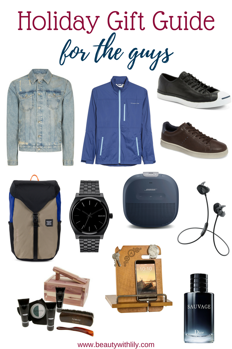 Ultimate Gift Guide For The Guys // Men's Gift Guide & Men's Stocking Stuffer Ideas | Beauty With Lily