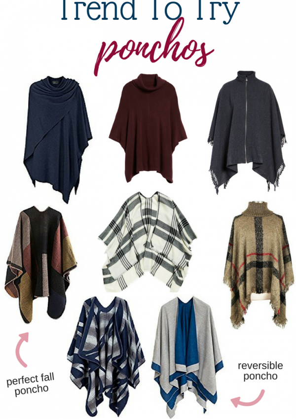Fall Trend To Try - Ponchos // Affordable Ponchos | Beauty With Lily
