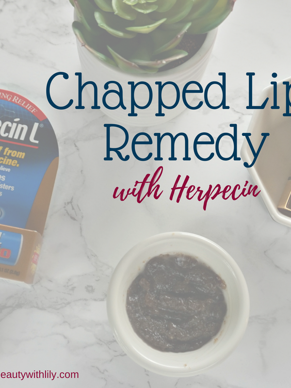 Chapped Lips Remedy With Herpecin + DIY Lip Scrub // Beauty With Lily #ad #Herpecin #PowerPrimer #BeautyJewel
