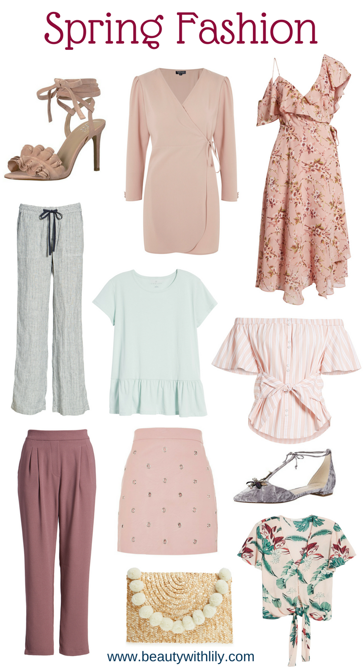 Romantic Spring Fashion // Spring Outfits // Spring Clothing | Beauty With Lily #fashionblogger #springfashion