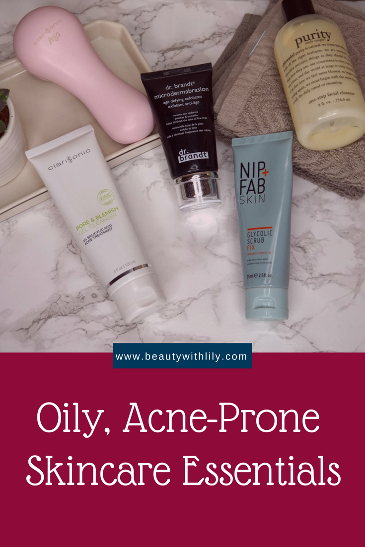 Oily, Acne-Prone Skincare Essentials // Oily Skincare Products // Acne Prone Skincare Products // Skincare - Beauty With Lily