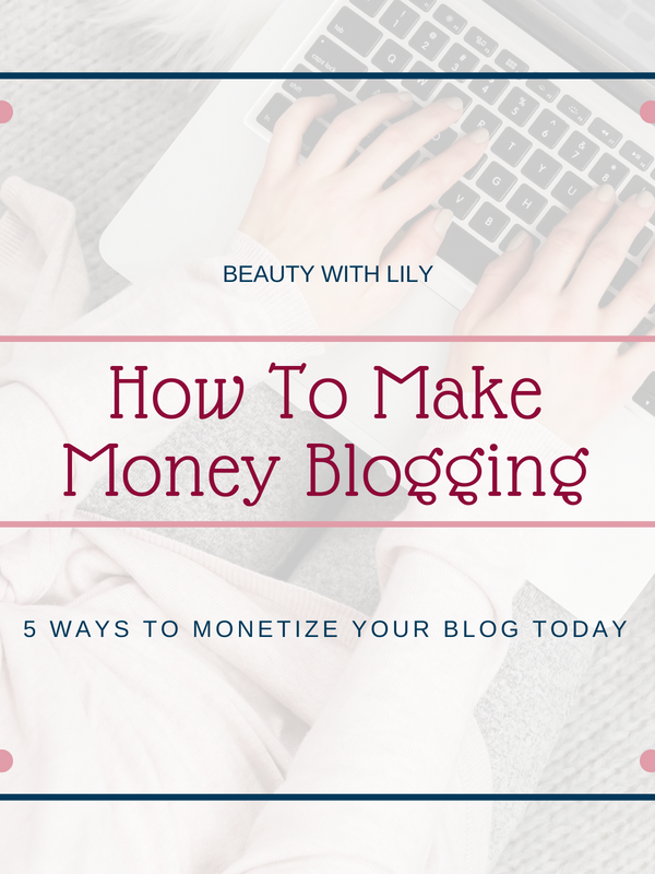 How To Make Money Blogging // How To Monetize Your Blog // Make Money Blogging // Blog Resources | Beauty With Lily