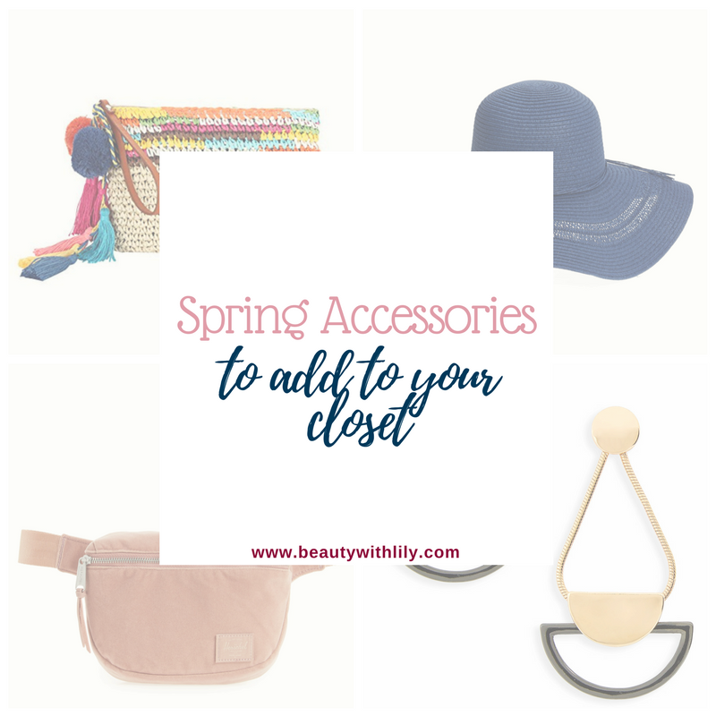 Must Have Spring Accessories // Spring Essentials // Spring Fashion // Summer Fashion | Beauty With Lily