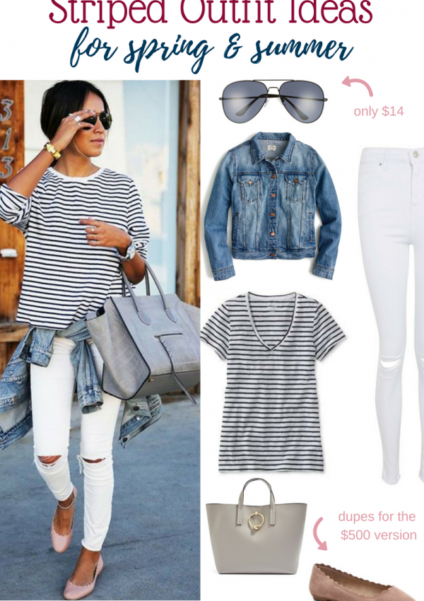 Striped Outfit Ideas
