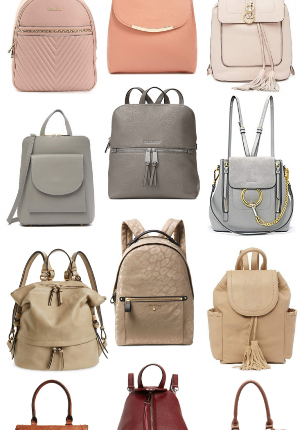 Backpack Trend // Trend To Try // Affordable Bags // Fun & Cute Backpacks for Women | Beauty With Lily