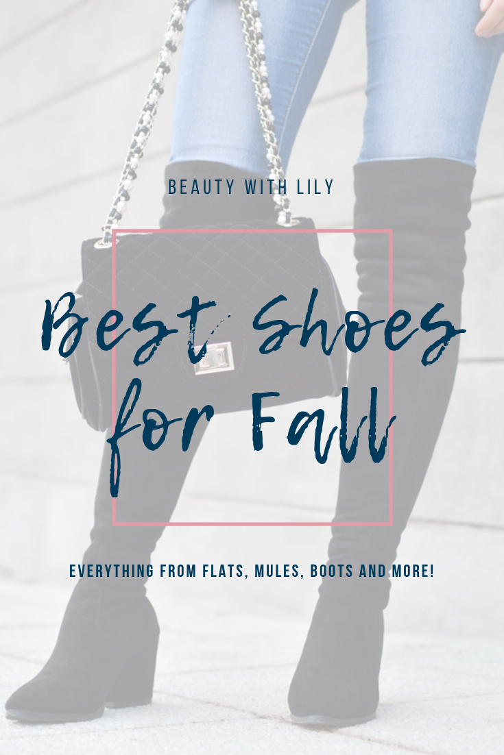 Best Shoes For Fall // Fall Shoes // Fall Booties // Fall Boots // Affordable Shoes for Fall // Fall Fashion // Winter Fashion // Shoe Love | Beauty With Lily