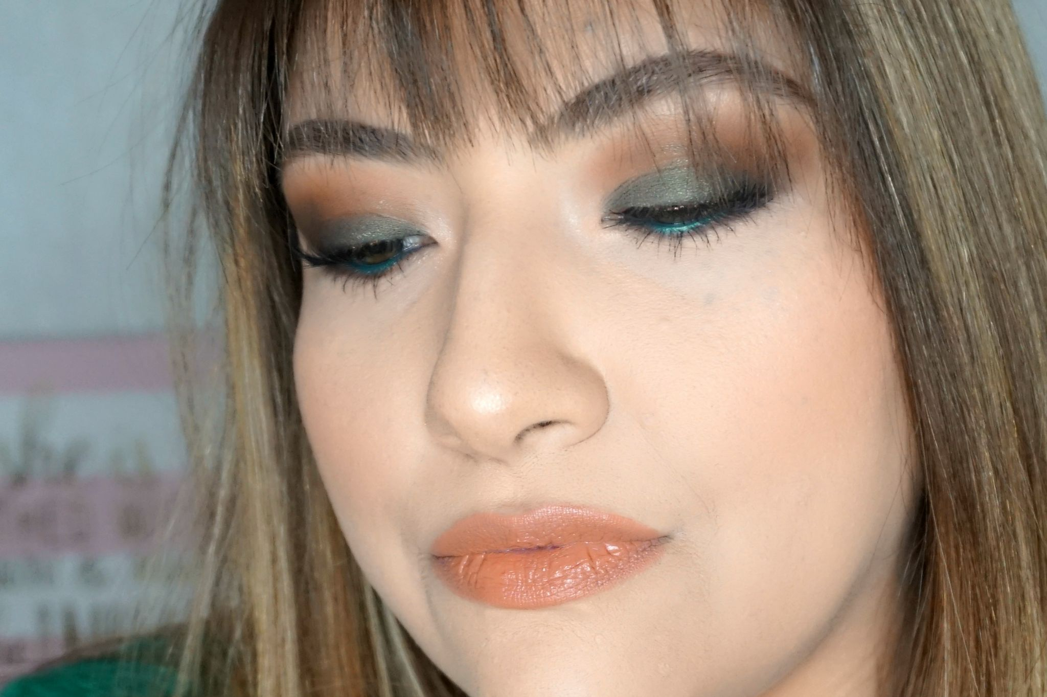 Olive Eye Look // Fall Makeup Look // Nude Lips // Smokey Eye // Easy Makeup | Beauty With Lily