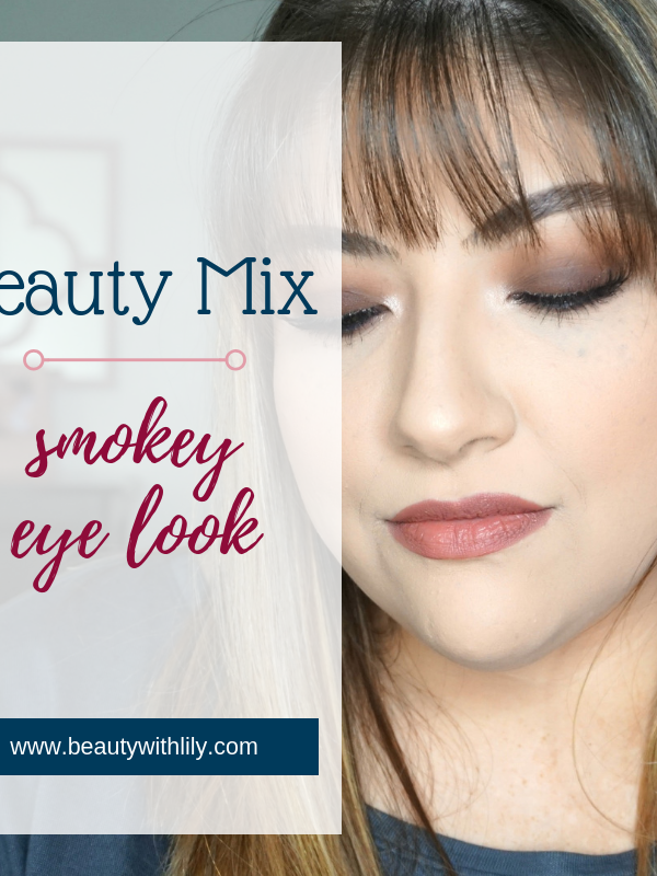 Plum Smokey Eye Look