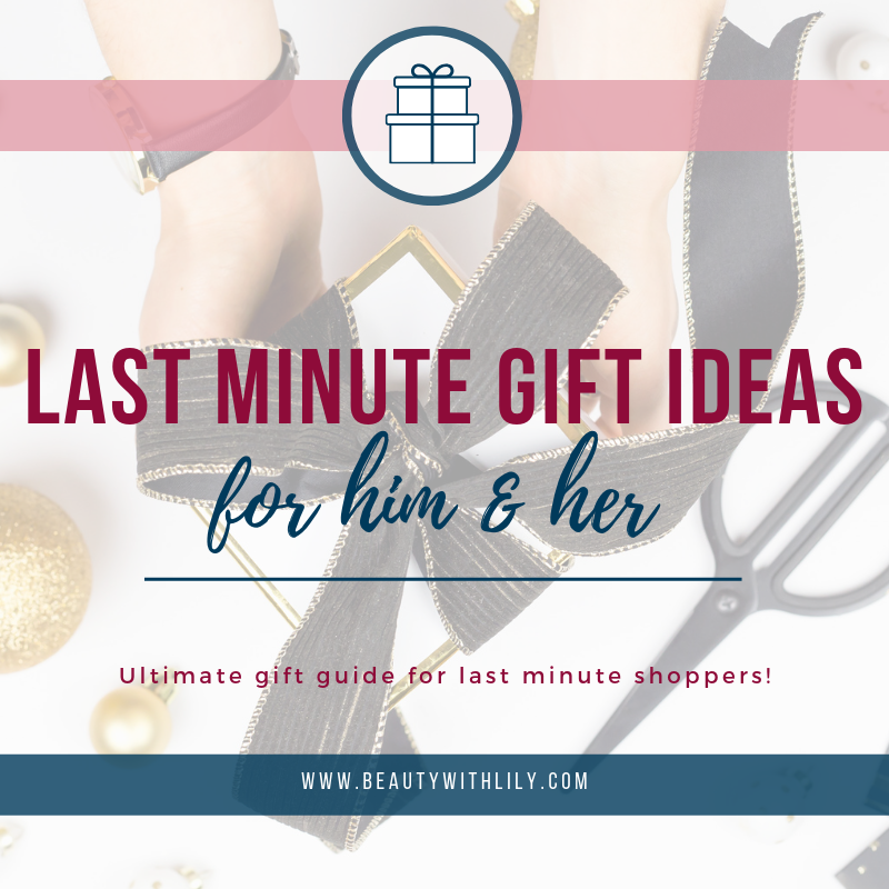Last Minute Gift Ideas For Him // Gift Guide For Him // Holiday Gift Guide // Gift Ideas For Men // Amazon Gift Ideas | Beauty With Lily