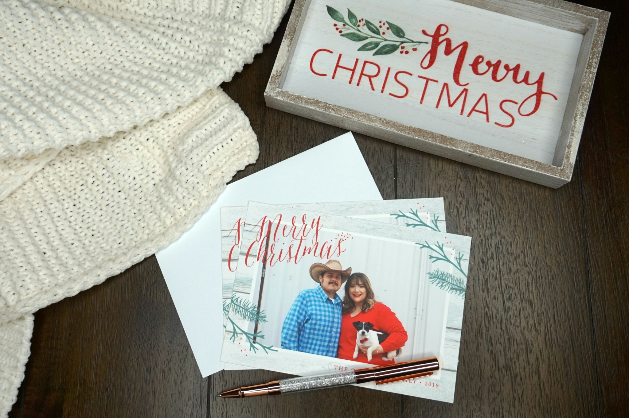 Holiday Cards with Basic Invite