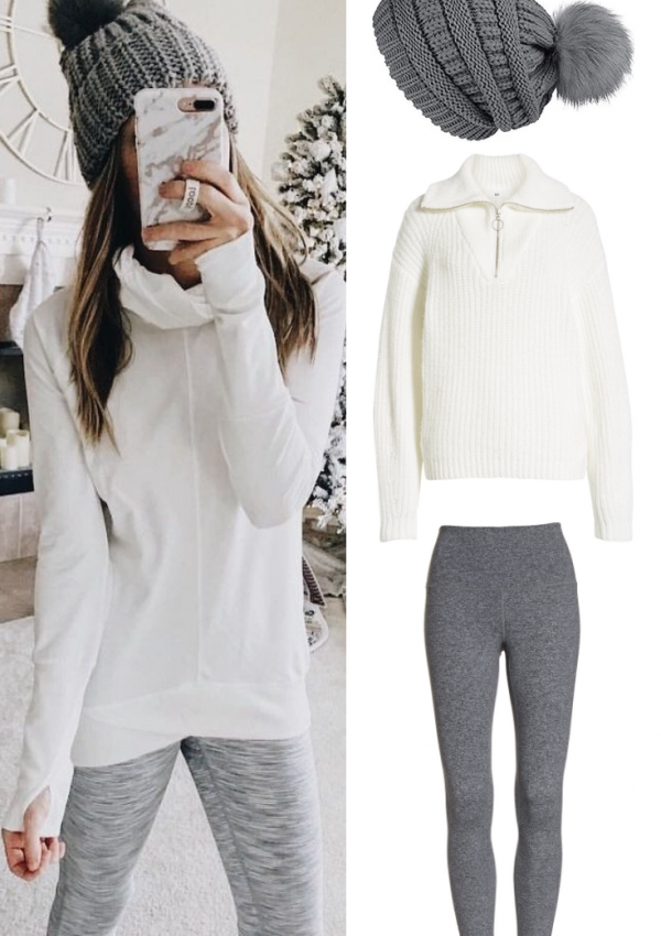Winter Athleisure Outfits For ALL Sizes