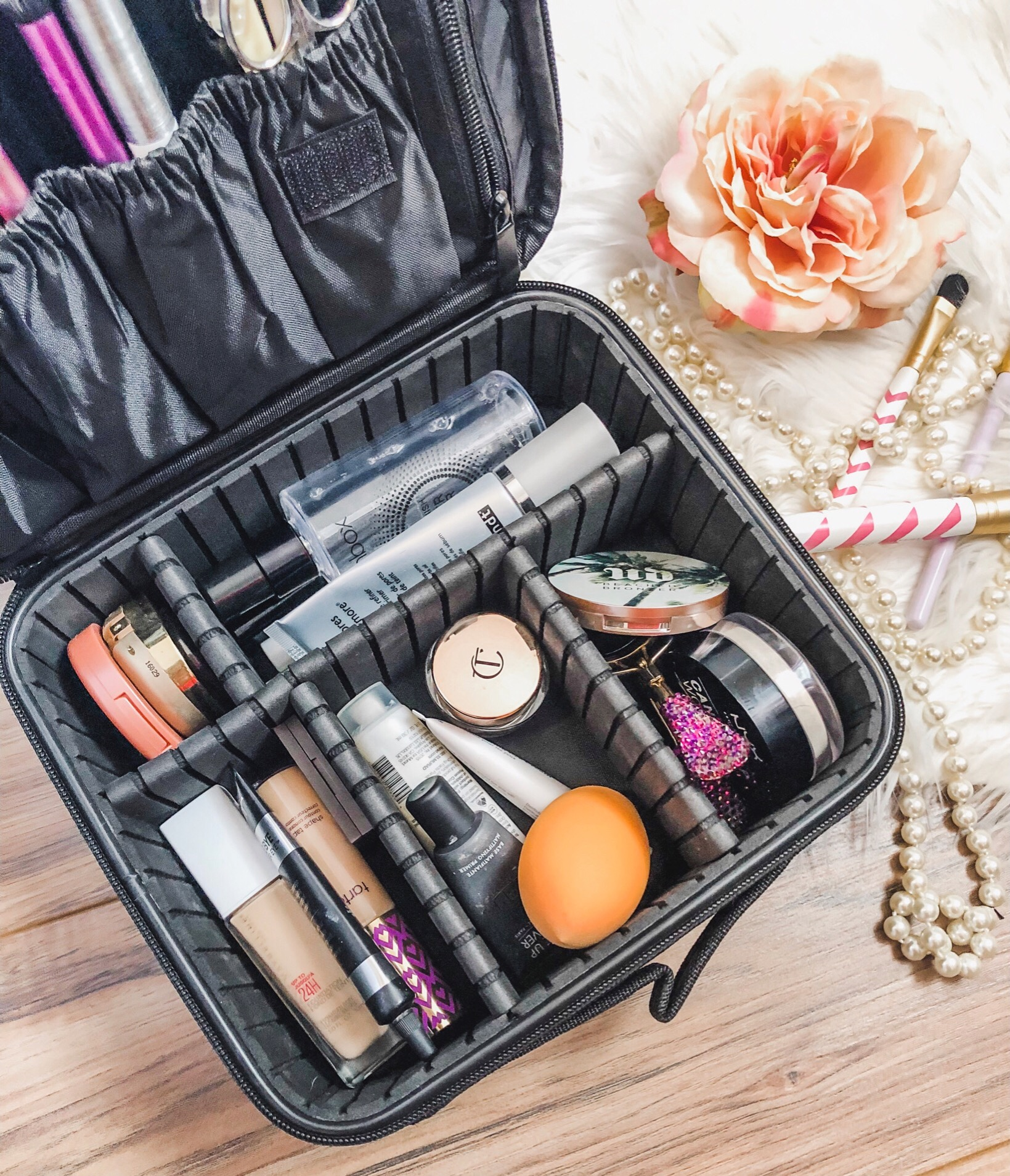 Amazon Must Haves // Recent Amazon Purchases // Travel Makeup Bag Essentials | Beauty With Lily