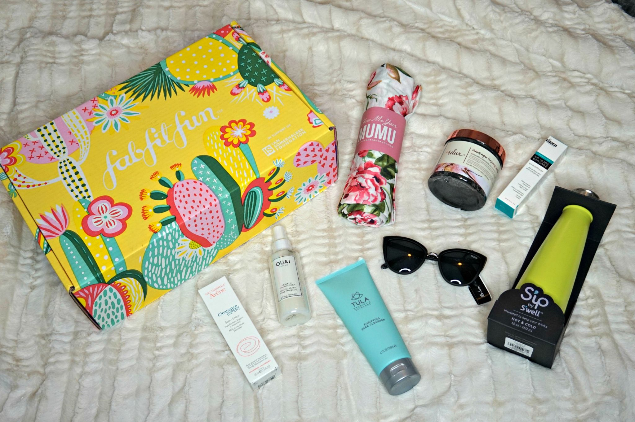 FabFitFun Spring Box 2019 // Honest FabFitFun Review // Subscription Service // Seasonal Subscription Box | Beauty With Lily