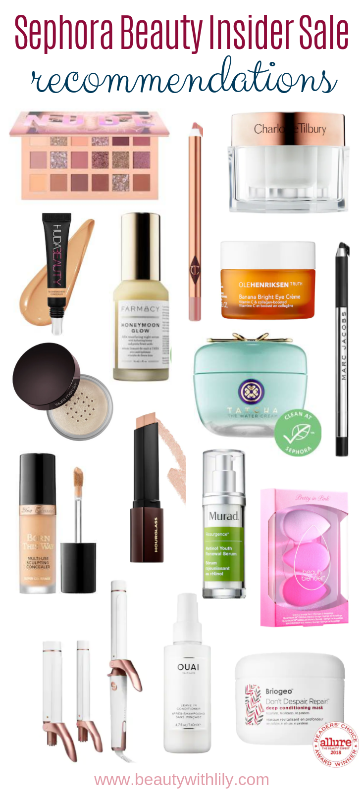 Sephora Beauty Insider Event // Sephora VIB Sale // Beauty Recommendations // Makeup To Try // High-End Beauty // Skincare Recommendations // Hair Tools   Beauty With Lily