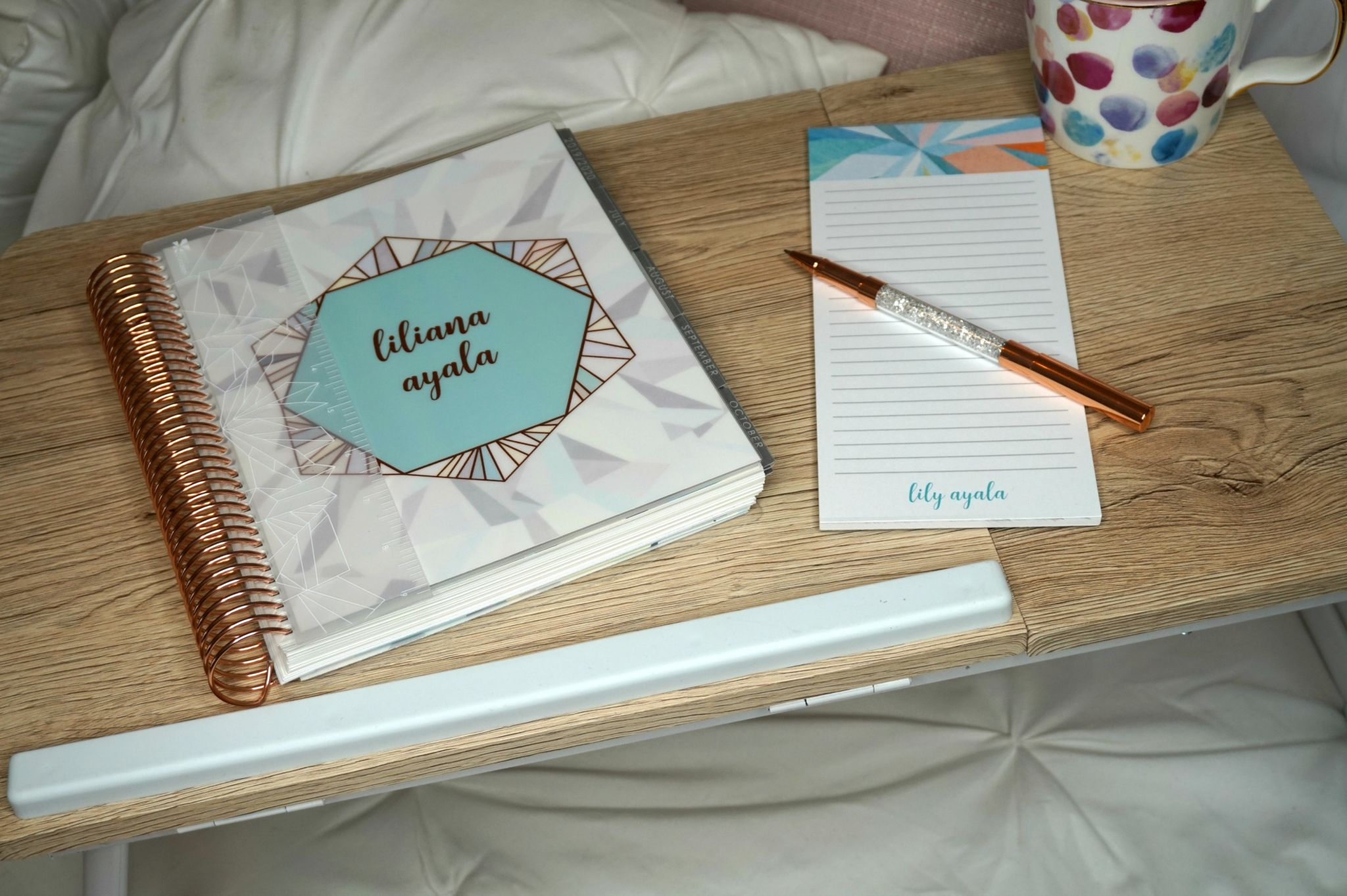 Planner Organization Hacks // How To Stay Organized // How To Use a Planner // Planner Hacks // Organization Hacks // Erin Condren LifePlanner | Beauty With Lily
