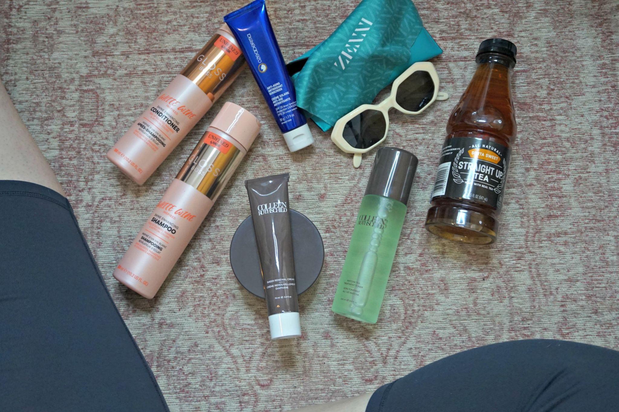 Summer Essentials // The Heat Is On // Travel Essentials // Skincare Essentials | Beauty With Lily #ad #HeatIsOnBBxx #justgotmyzennis #zennista CRothschild HASK Beauty