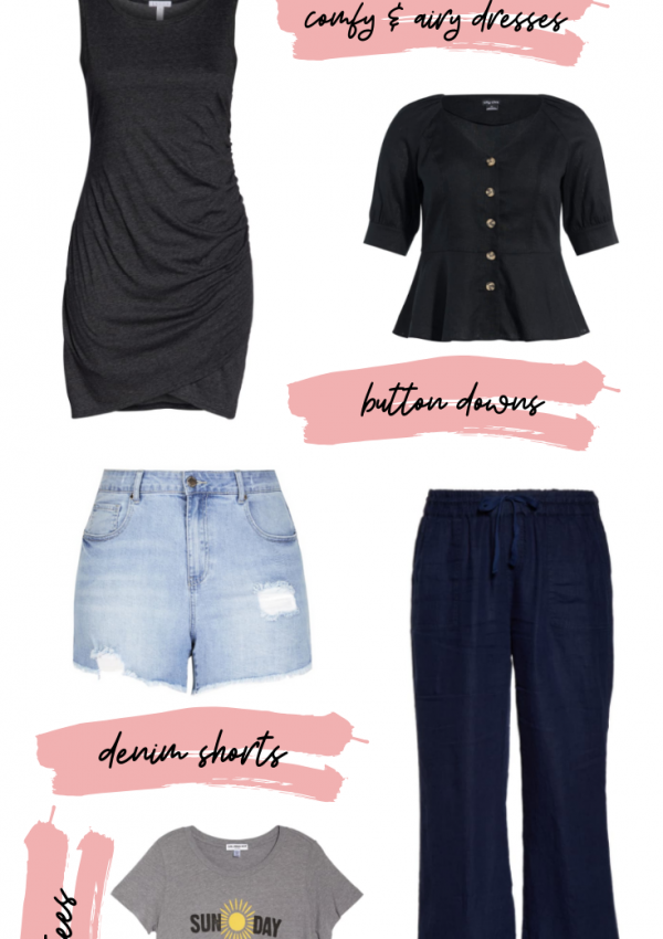 Plus Size Staple Pieces for Summer