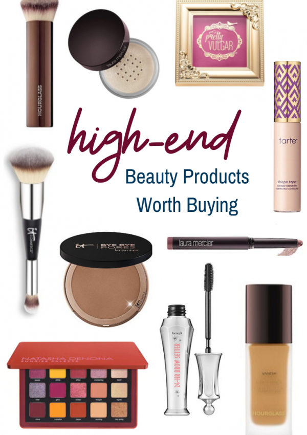 High-End Beauty Products Worth Buying
