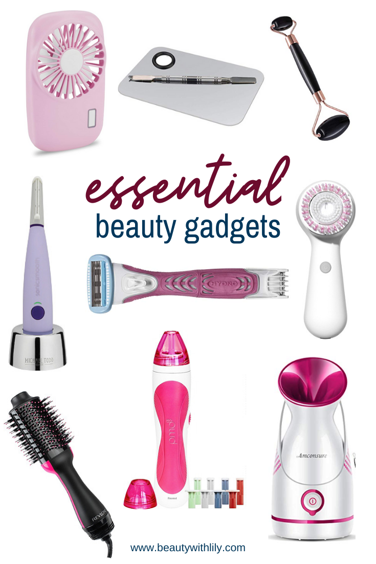 Essential Beauty Gadgets // Beauty Gadgets To Try // Beauty Tools // Skincare Products // Hair Care Products // At Home Spa Essentials // Must Have Beauty Tools | Beauty With Lily