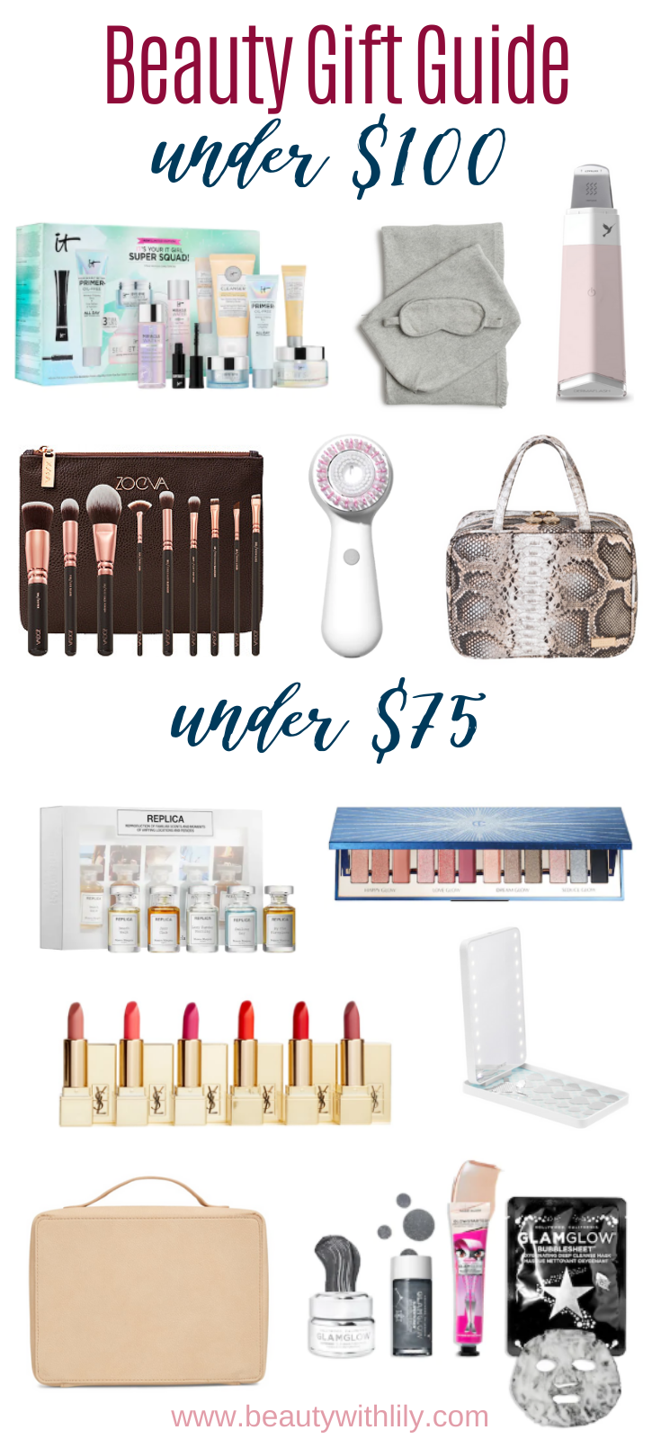 Gift Guide for Beauty Lovers // Beauty Gift Guide // Gift Ideas for Women // Gift Ideas for Teens // Stocking Stuffers for Teens // Stocking Stuffers for Makeup Lovers // Gift Guide for Makeup Lovers | Beauty With Lily