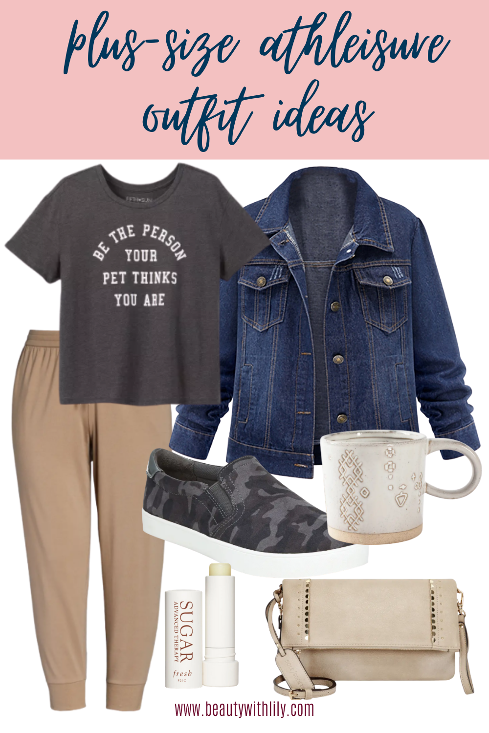Athleisure Outfit Ideas // Plus Size Athleisure Outfit Ideas // Plus Size Outfit Ideas // Women's Fashion // Fall Fashion for Women // Summer to Fall Fashion // Cute Loungewear Outfits // Cozy Loungewear Ideas // Work From Home Outfits // Chic Loungewear Outfits | Beauty With Lily
