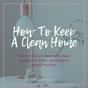How To Keep A Clean Home